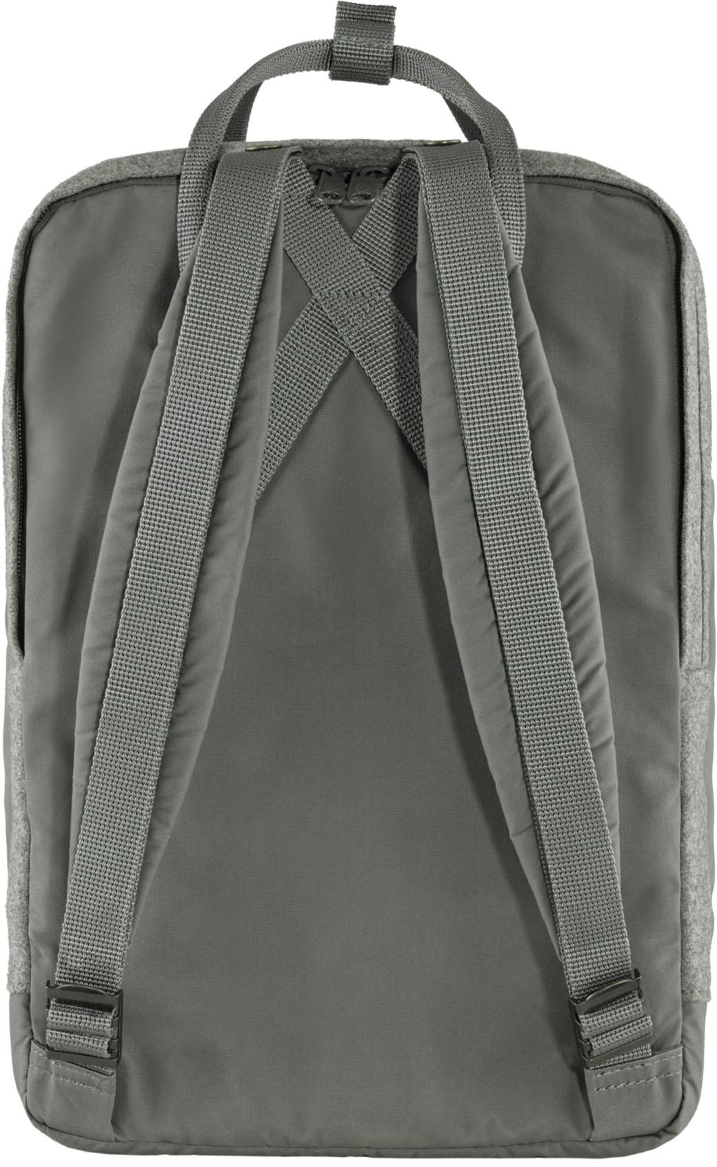 """Fjällräven Kånken Re-Wool Laptop 15"""" Granite Grey-11"""