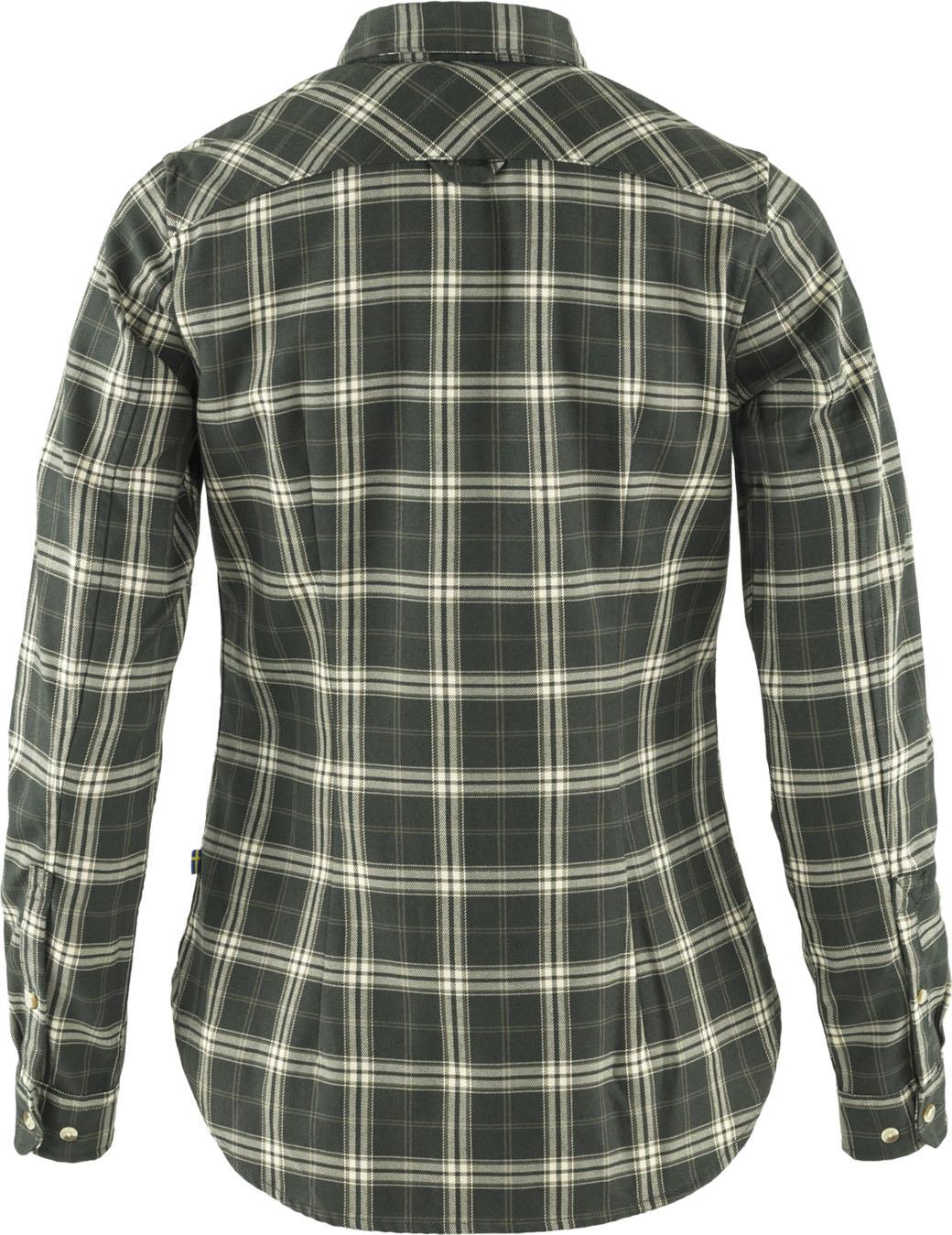 Fjällräven Fjällglim Stretch Shirt LS W  Deep Forest-2