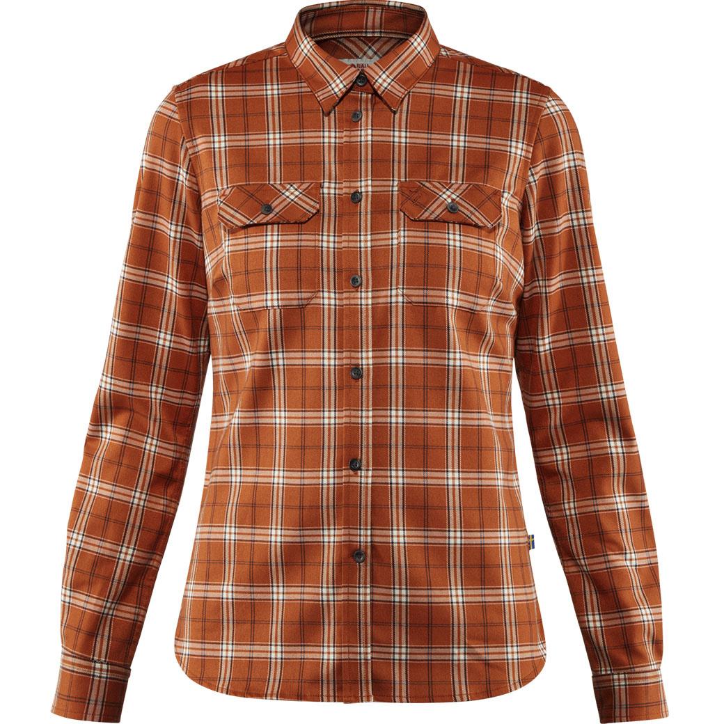 Fjällräven Fjällglim Stretch Shirt LS W Autumn Leaf-1