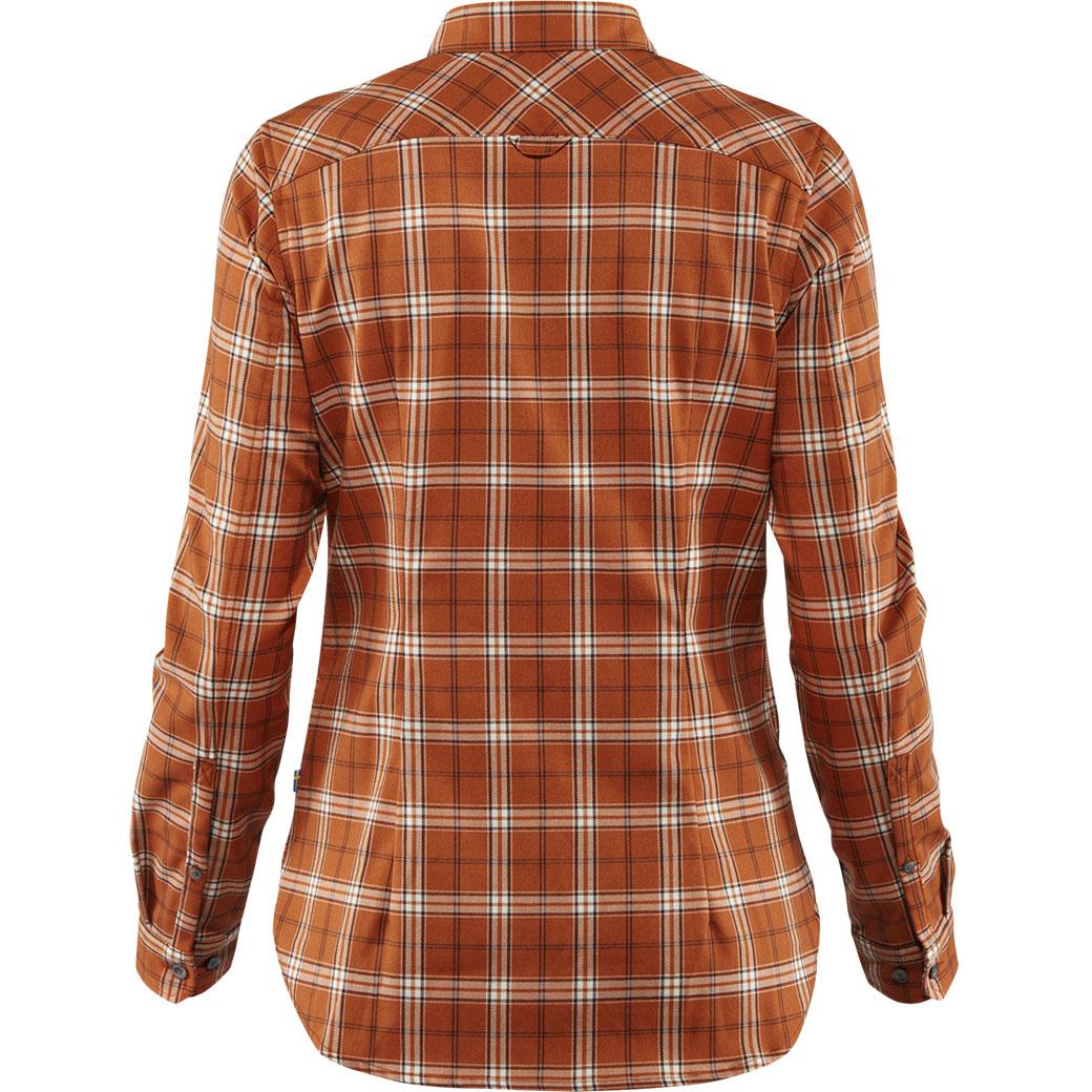 Fjällräven Fjällglim Stretch Shirt LS W Autumn Leaf-2