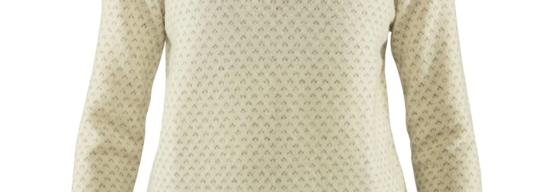 Fjällräven Övik Nordic Sweater W Chalk White