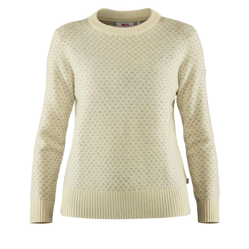 Fjällräven Övik Nordic Sweater W Chalk White-1