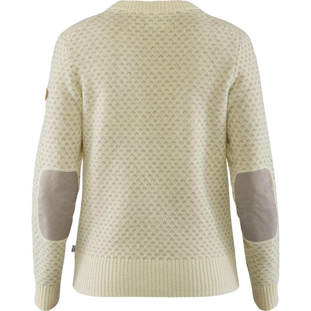 Fjällräven Övik Nordic Sweater W Chalk White-2