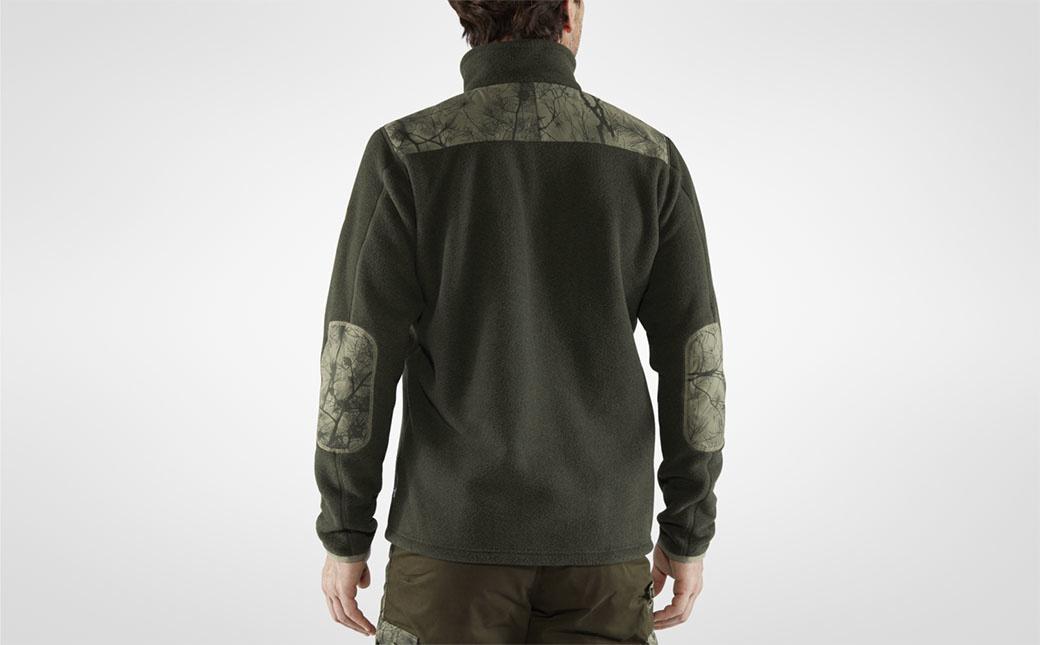 Fjällräven Lappand Fleece M Laurel Green-Green Camo-5