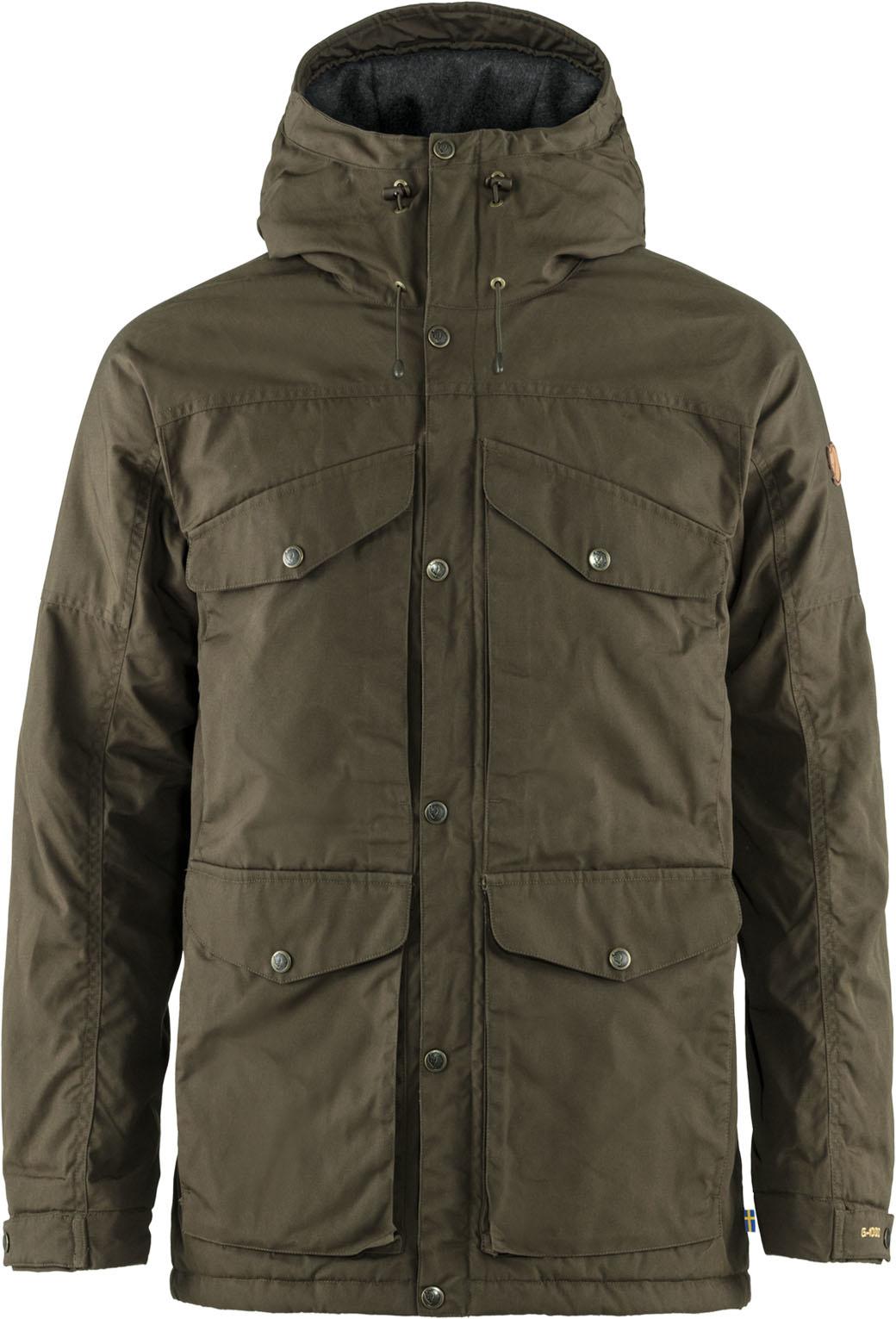 Fjällräven Vidda Pro Wool Padded Jacket M Dark Olive-1