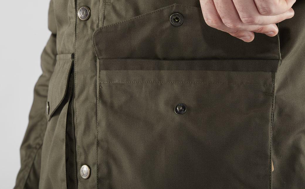 Fjällräven Vidda Pro Wool Padded Jacket M Dark Olive-4