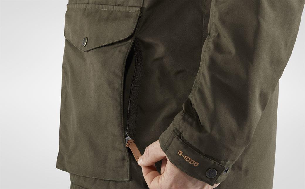 Fjällräven Vidda Pro Wool Padded Jacket M Dark Olive-5