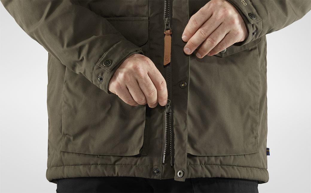 Fjällräven Vidda Pro Wool Padded Jacket M Dark Olive-6