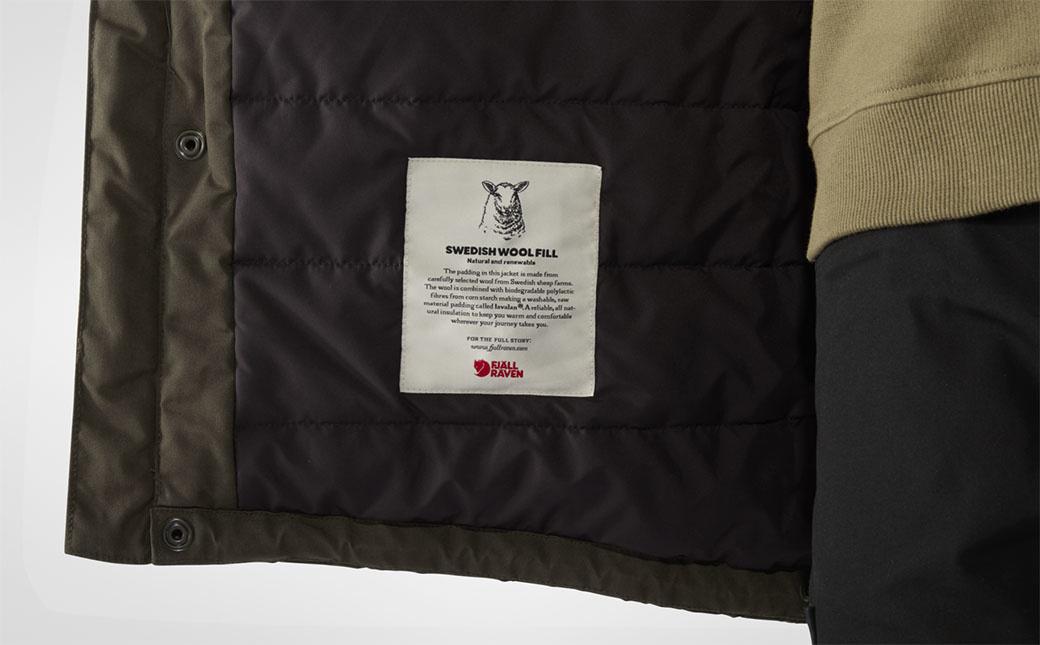 Fjällräven Vidda Pro Wool Padded Jacket M Dark Olive-7