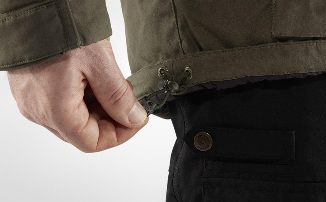 Fjällräven Vidda Pro Wool Padded Jacket M Dark Olive-8