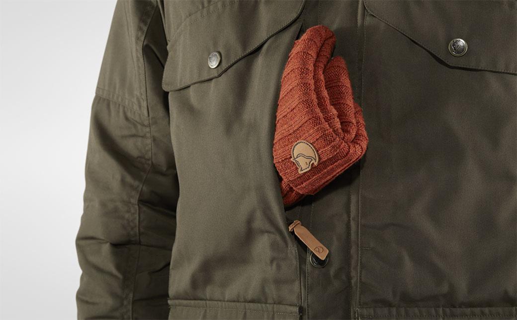 Fjällräven Vidda Pro Wool Padded Jacket M Dark Olive-9