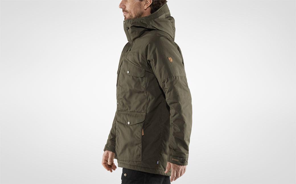 Fjällräven Vidda Pro Wool Padded Jacket M Dark Olive-10