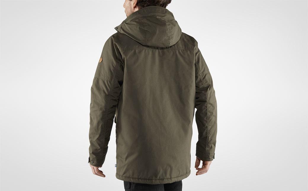 Fjällräven Vidda Pro Wool Padded Jacket M Dark Olive-11