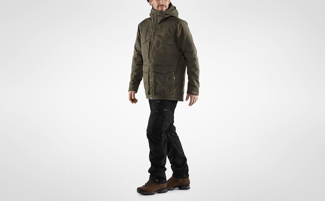 Fjällräven Vidda Pro Wool Padded Jacket M Dark Olive-12