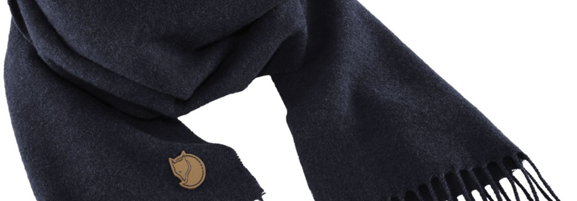 Fjällräven Solid Re-Wool Scarf Dark Navy