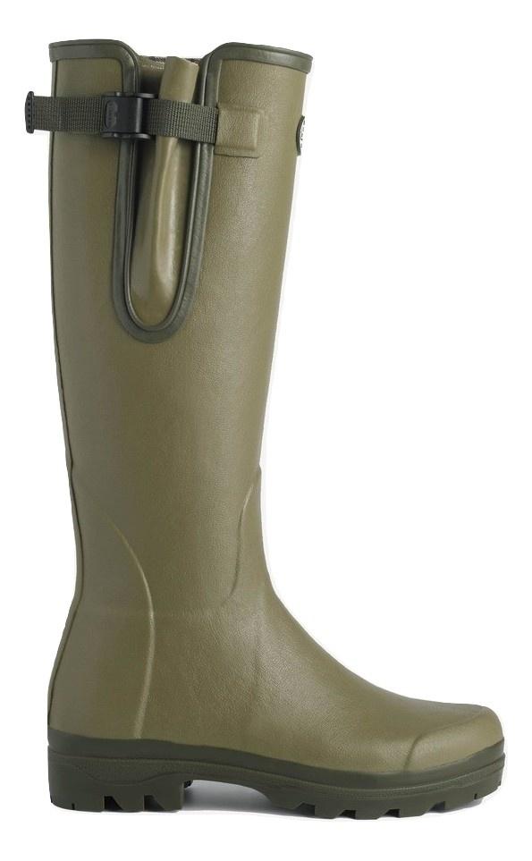 Le Chameau Men's Vierzon Jersey Lined Boot Vert Vierzon-2