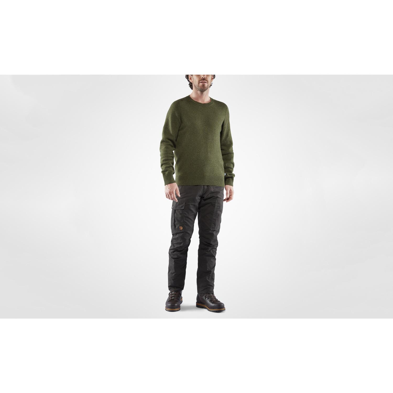 Fjällraven Karl Pro Winter Trousers M Dark Olive-8