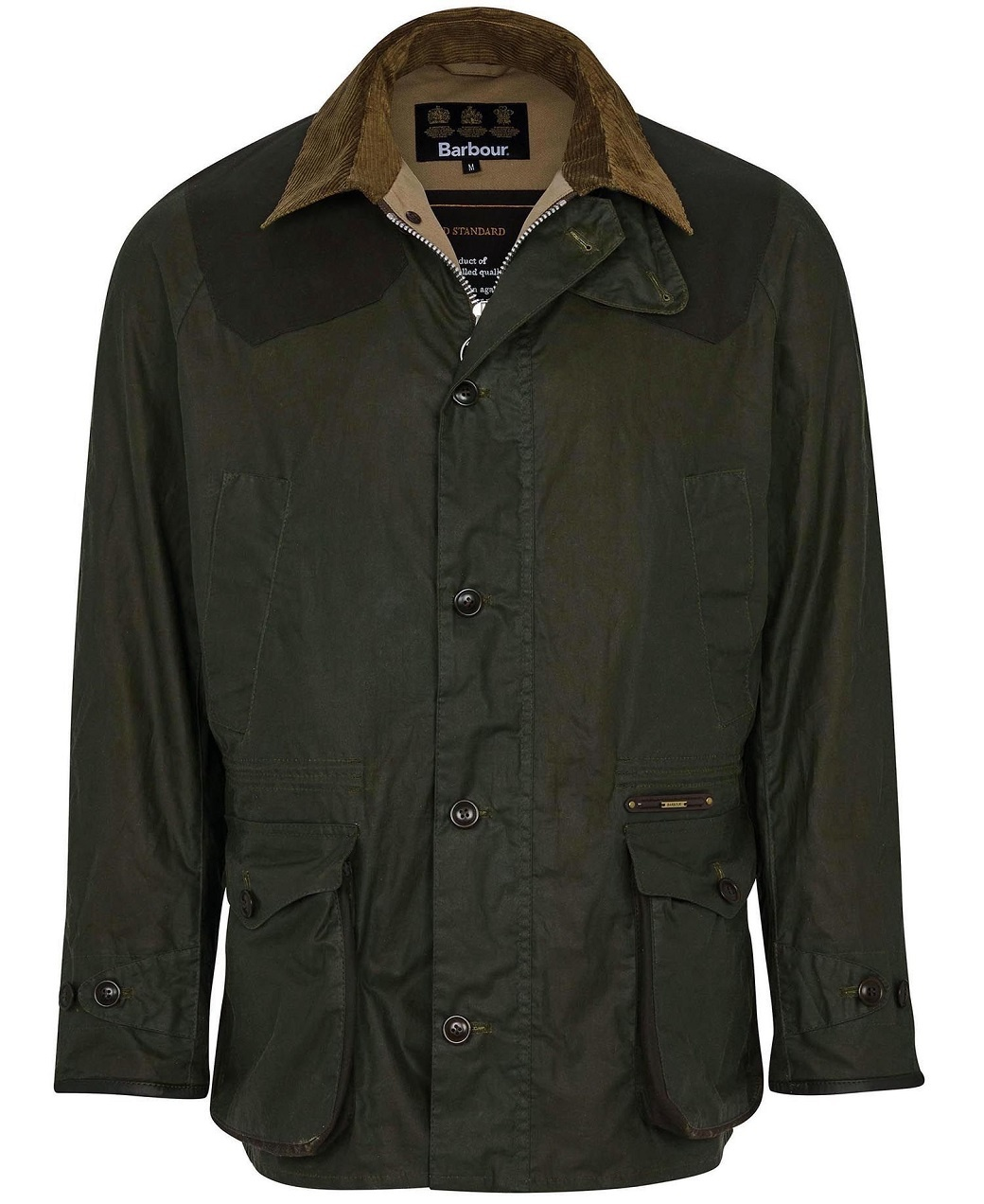 Barbour Oakby Wax Olive-1