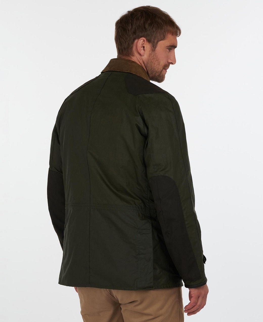 Barbour Oakby Wax Olive-4