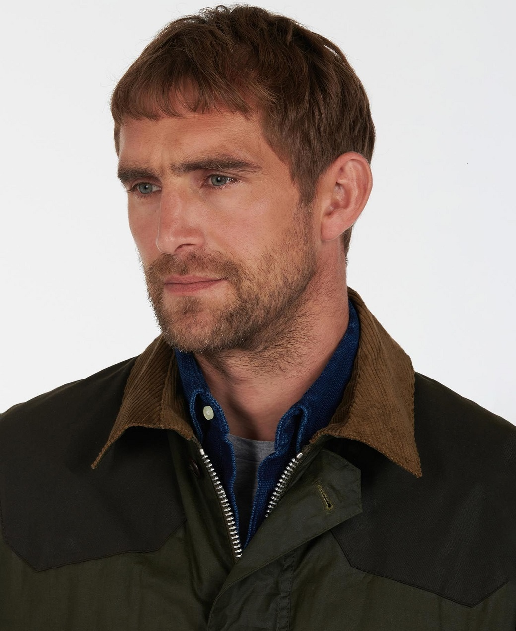 Barbour Oakby Wax Olive-6