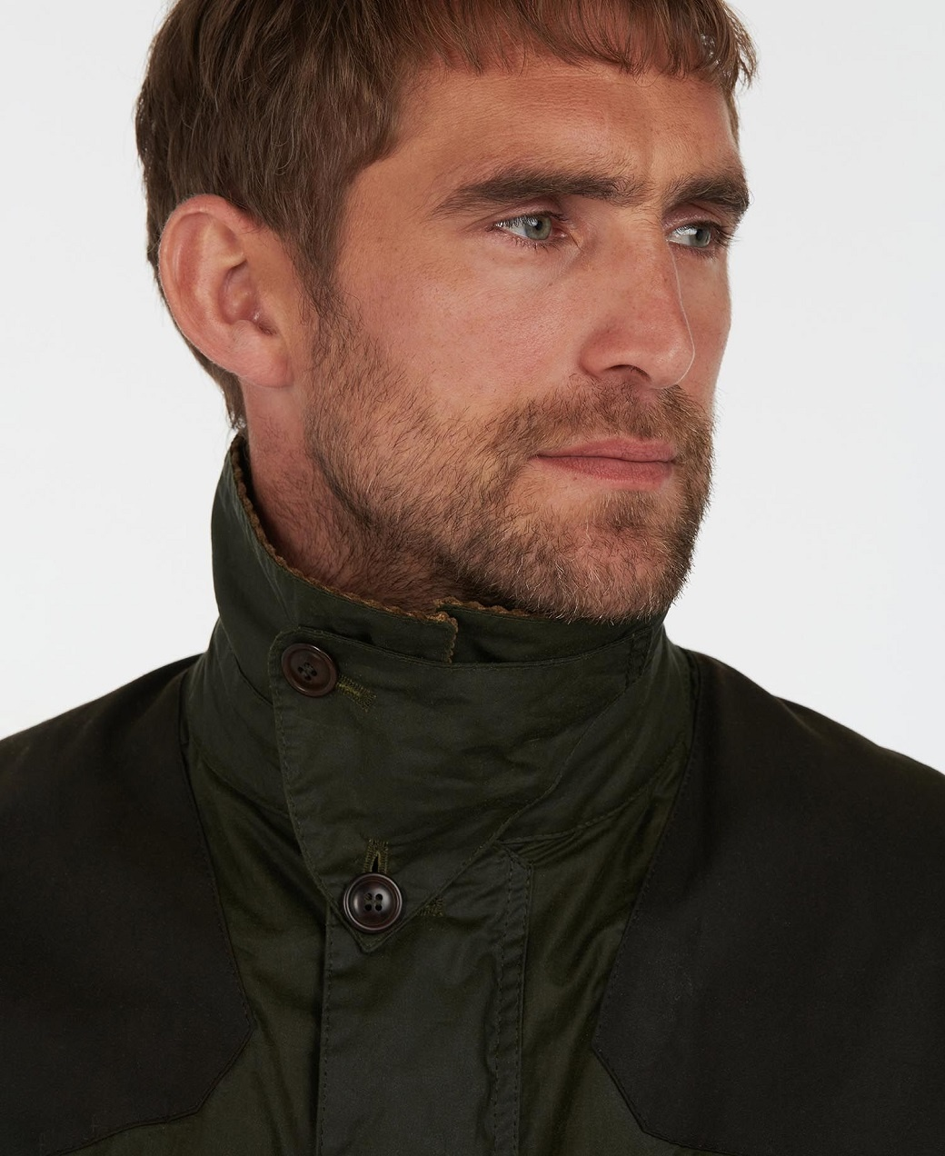 Barbour Oakby Wax Olive-5