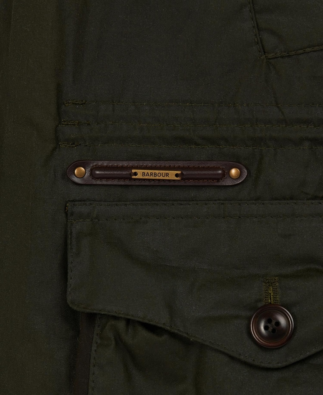 Barbour Oakby Wax Olive-7