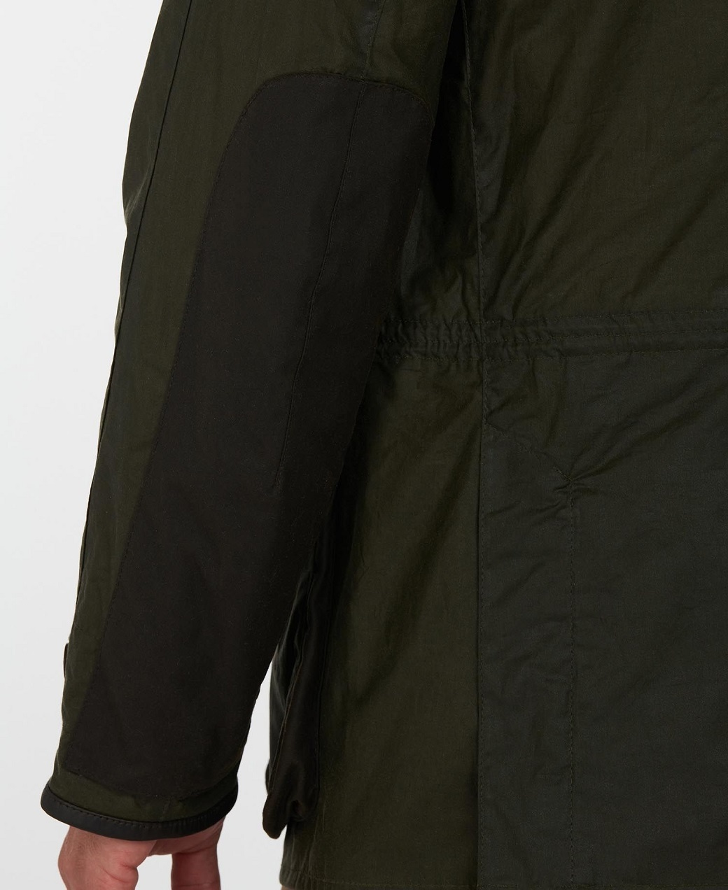 Barbour Oakby Wax Olive-8