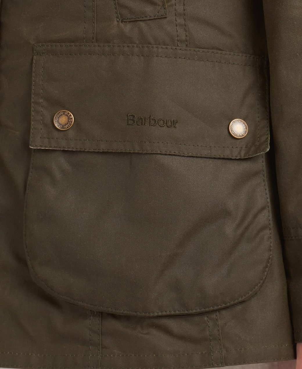 Barbour Aintree Wax Archive Olive-Pink Olive Tartan-8