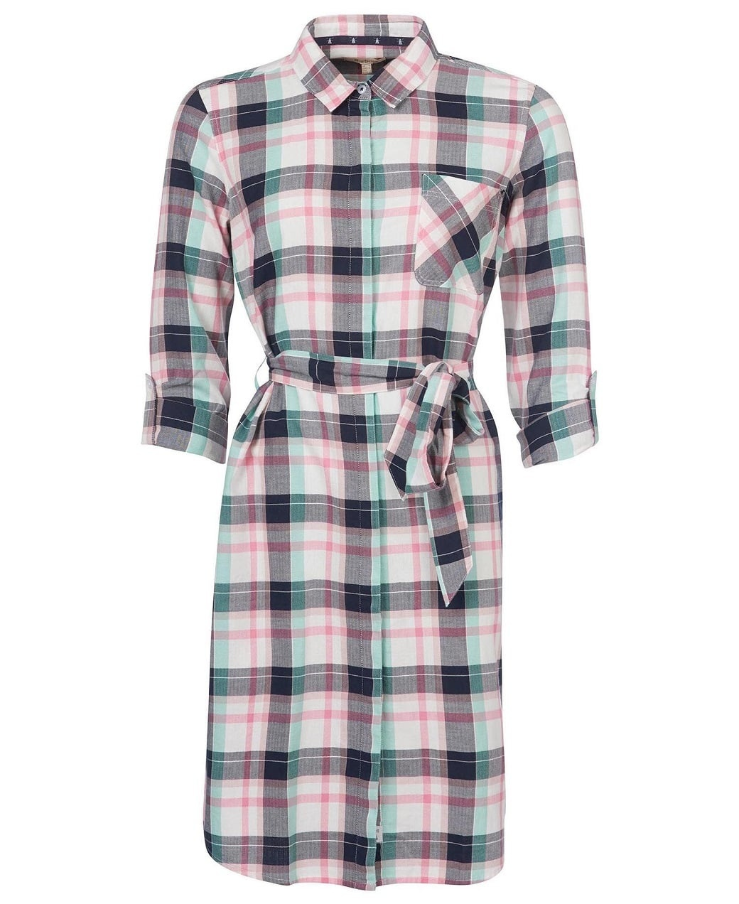 Barbour Padstow Dress Cloud Check-1