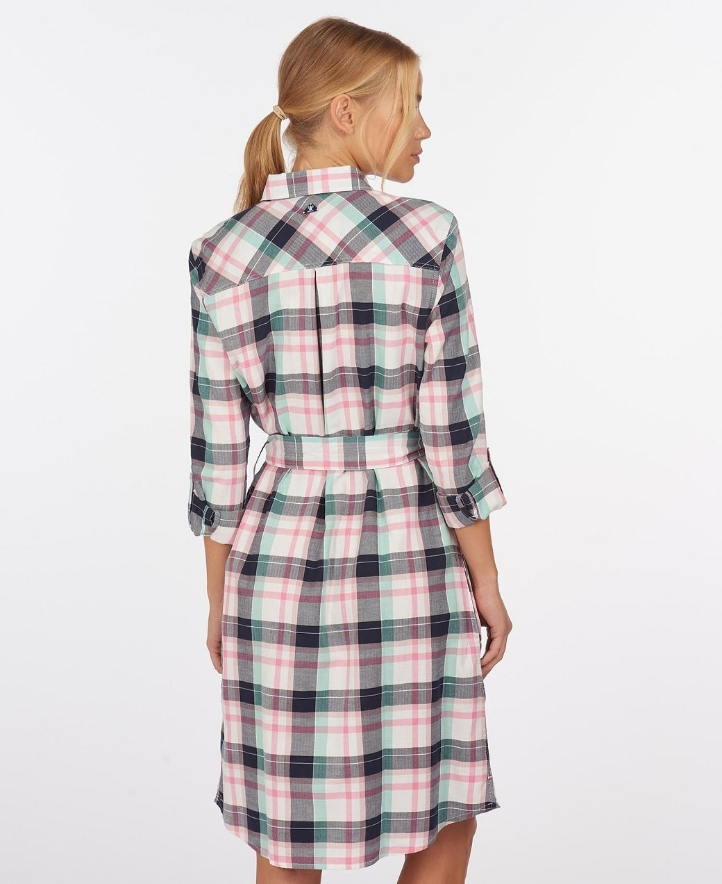 Barbour Padstow Dress Cloud Check-4