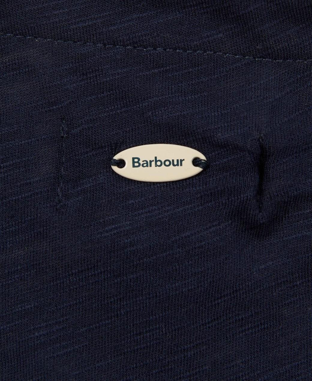 Barbour Brunswick Top Navy-6