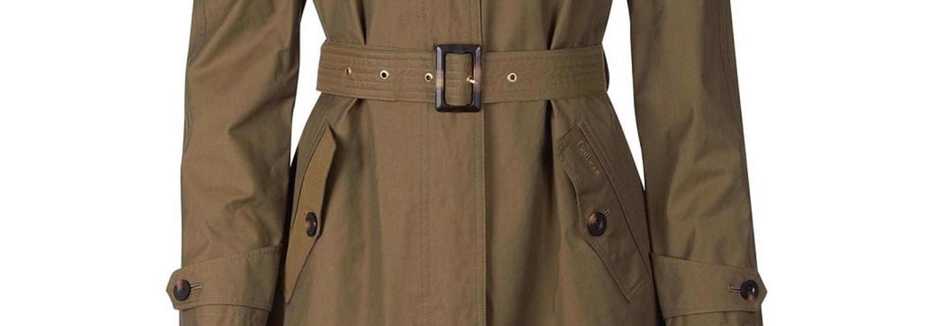 Barbour Brunswick Waterproof Jacket Olive-Olive Mist Tartan