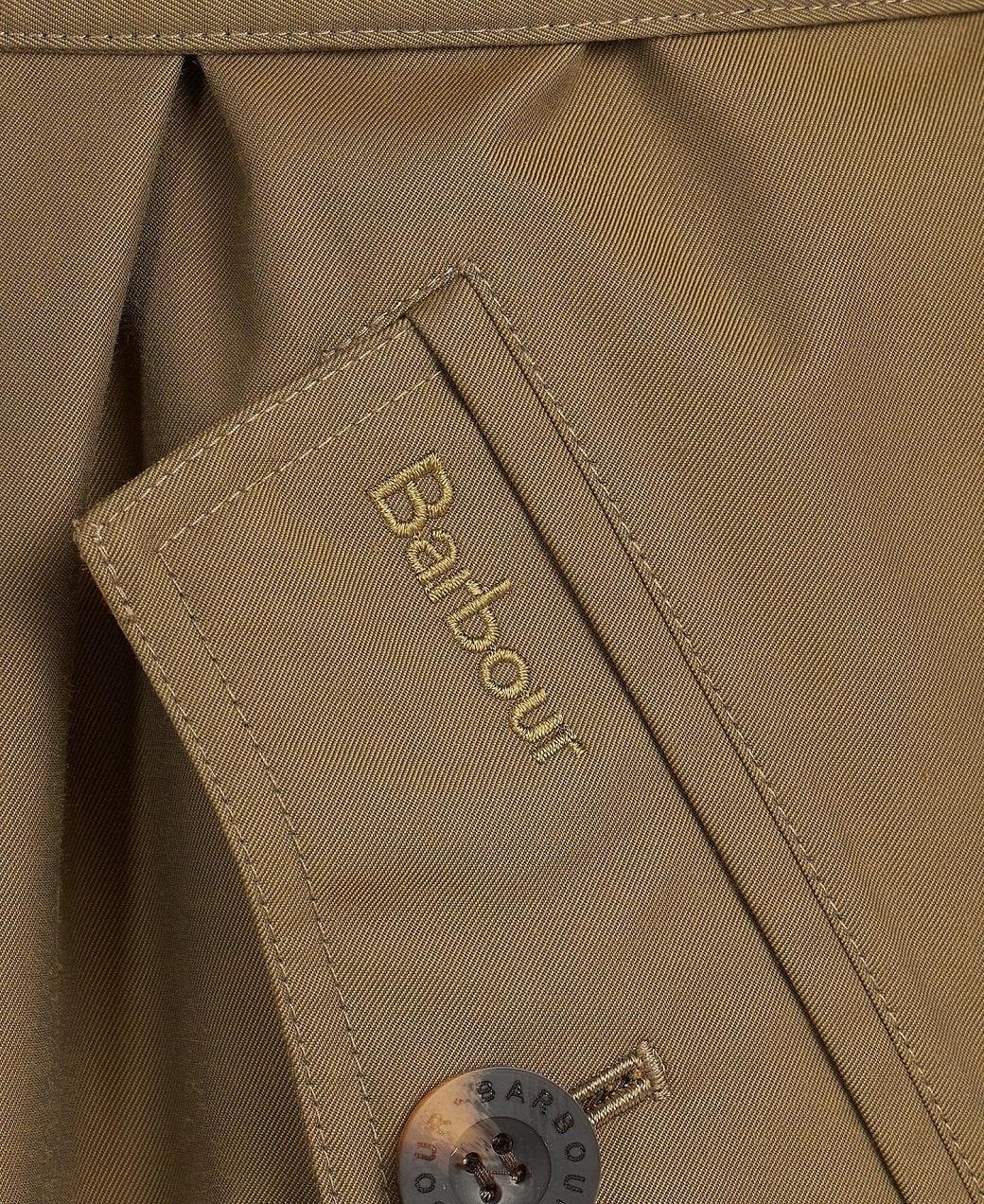 Barbour Brunswick Waterproof Jacket Olive-Olive Mist Tartan-8