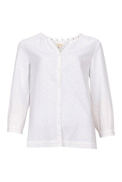 Barbour Folkestone Shirt White