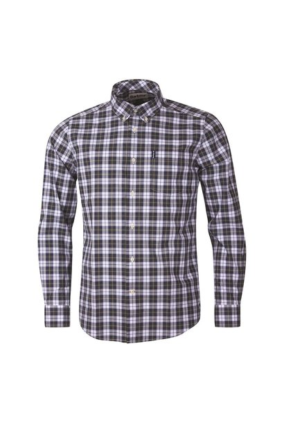 Barbour Highland Check 28 Tailored Olive