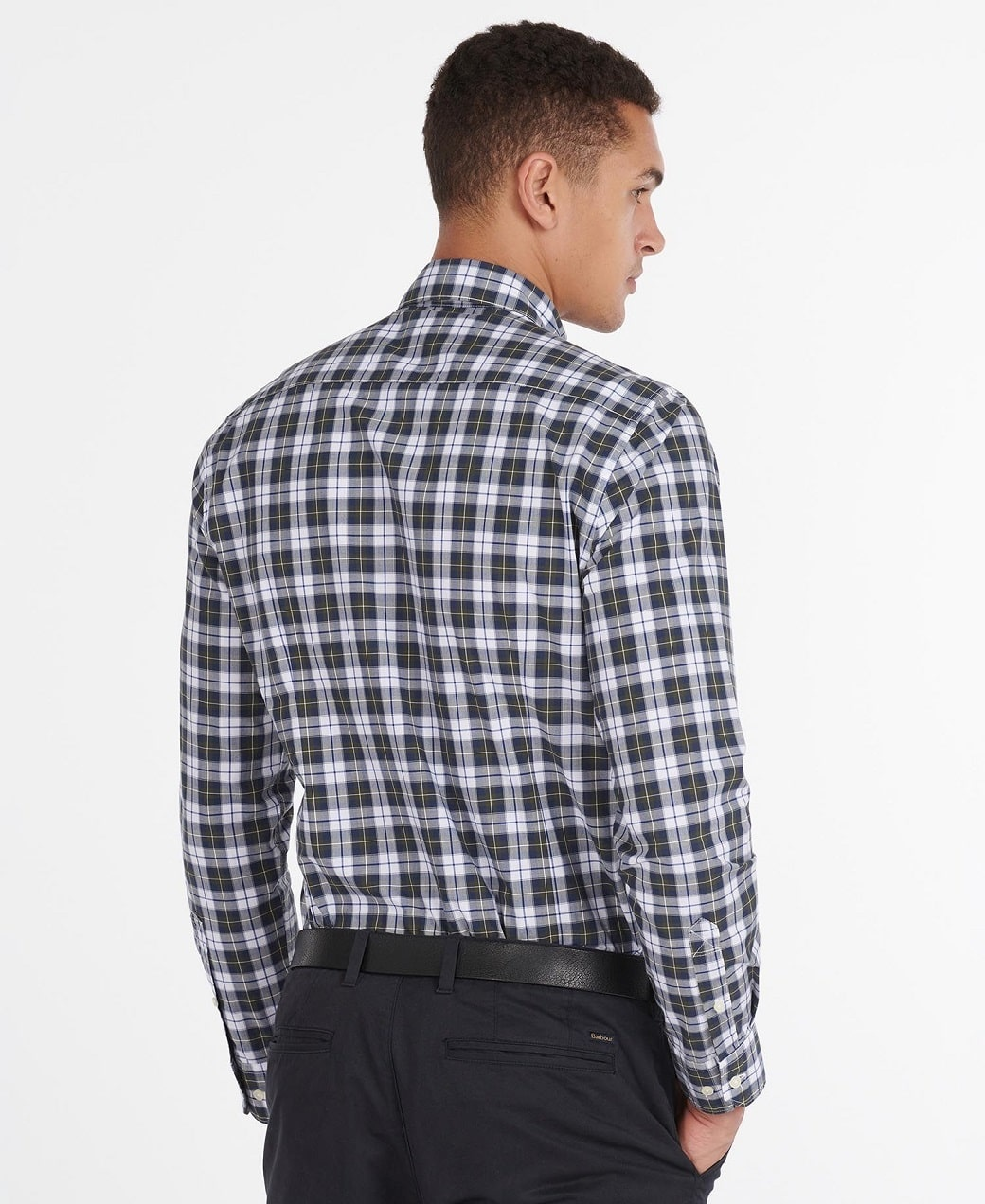 Barbour Highland Check 28 Tailored Olive-3