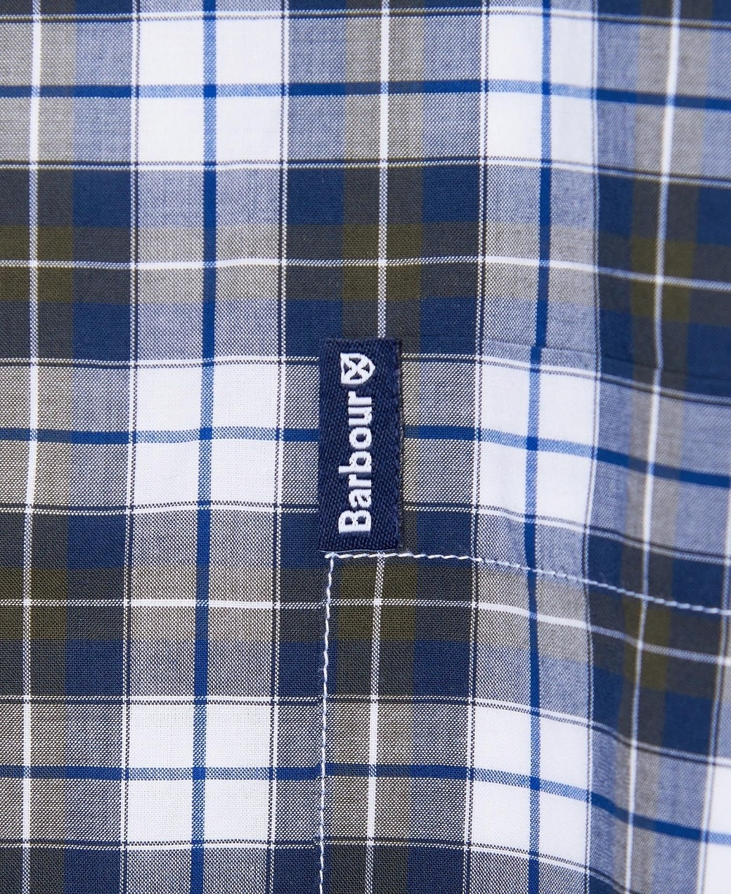 Barbour Highland Check 28 Tailored Olive-5
