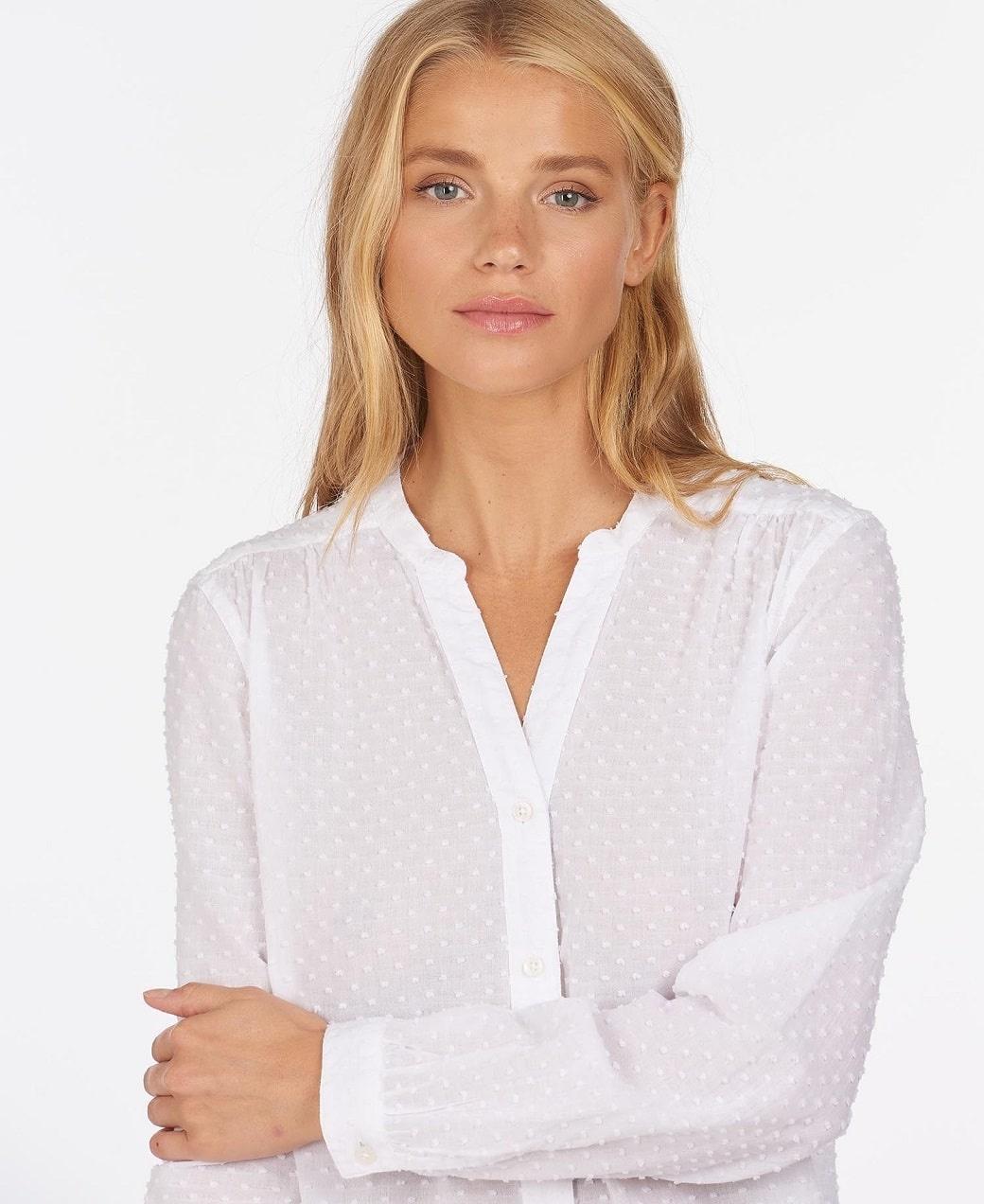 Barbour Southport Shirt Cloud-5