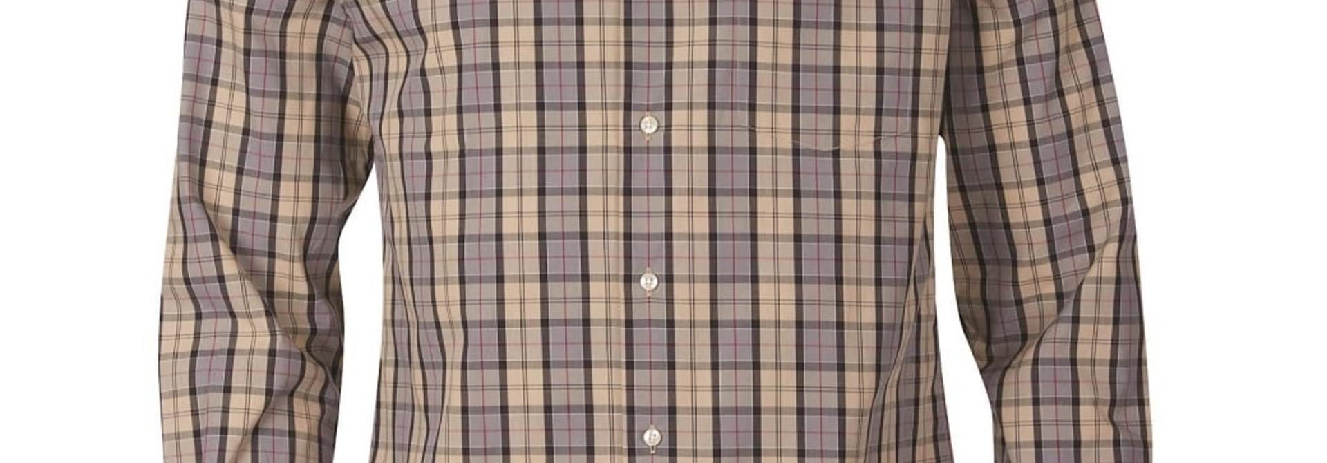 Barbour Tartan 17 Tailored  Shirt Dress Tartan
