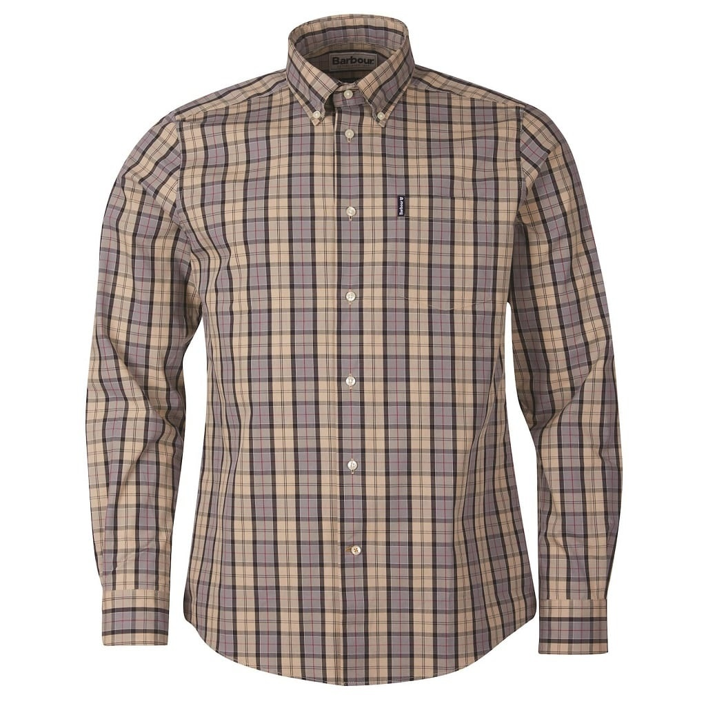 Barbour Tartan 17 Tailored  Shirt Dress Tartan-1