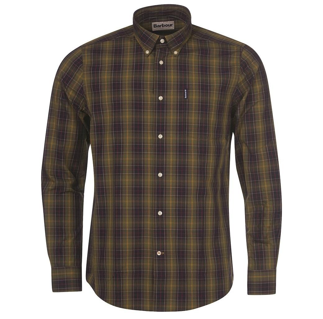 Barbour Tartan 17 Tailored Shirt Classic Tartan-1