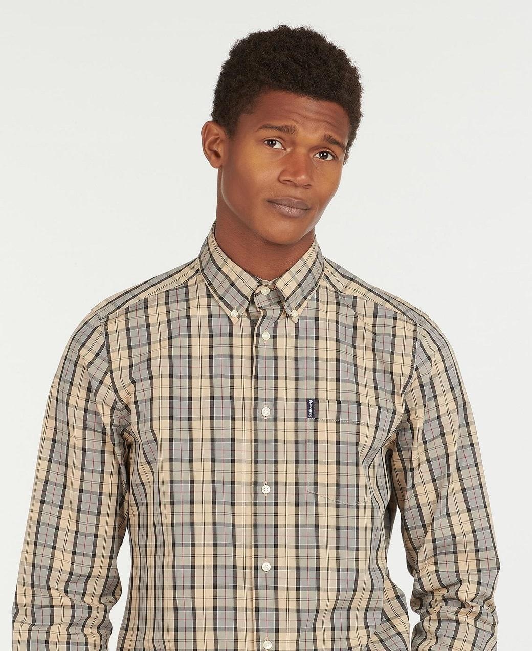 Barbour Tartan 17 Tailored  Shirt Dress Tartan-5