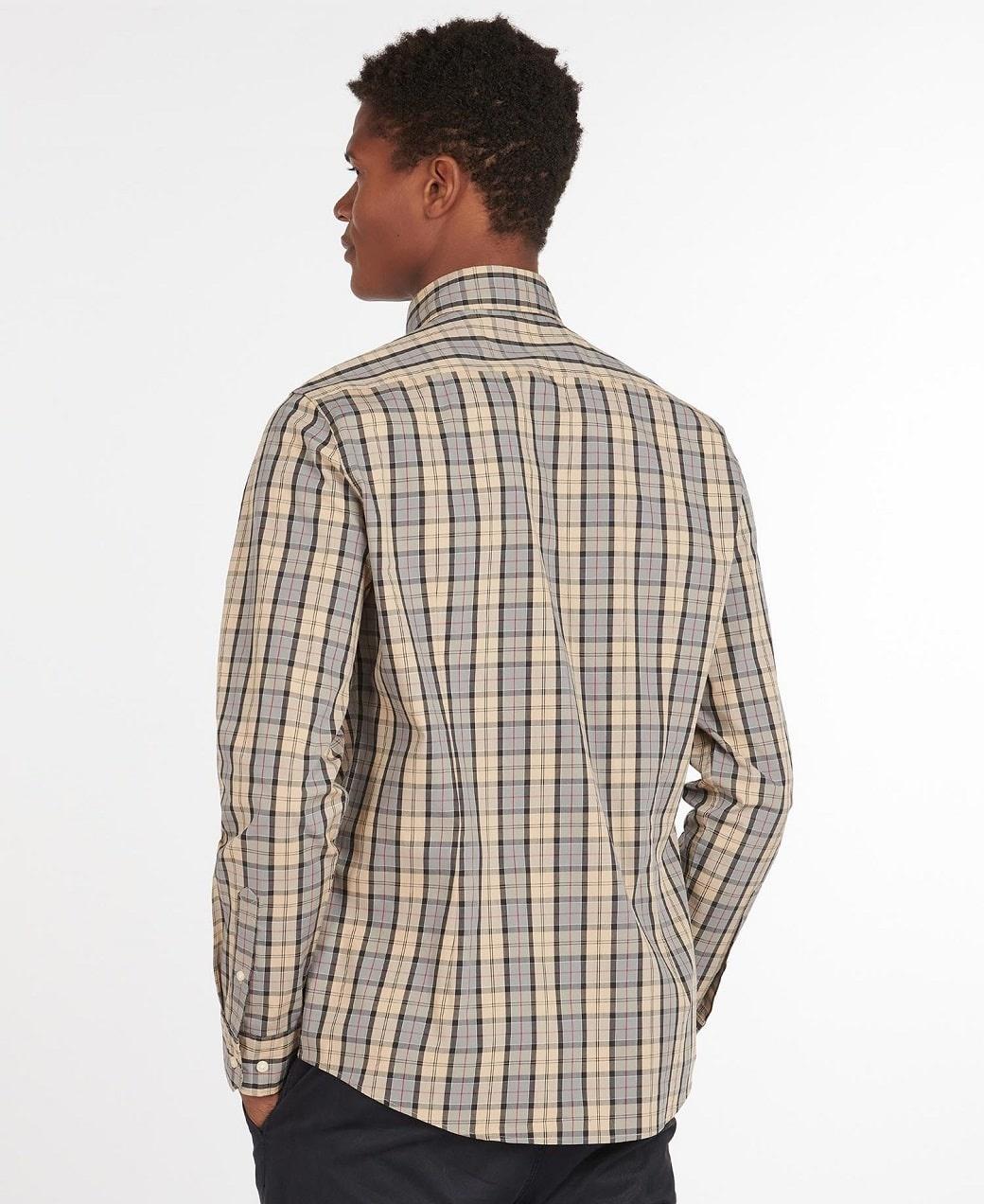 Barbour Tartan 17 Tailored  Shirt Dress Tartan-4