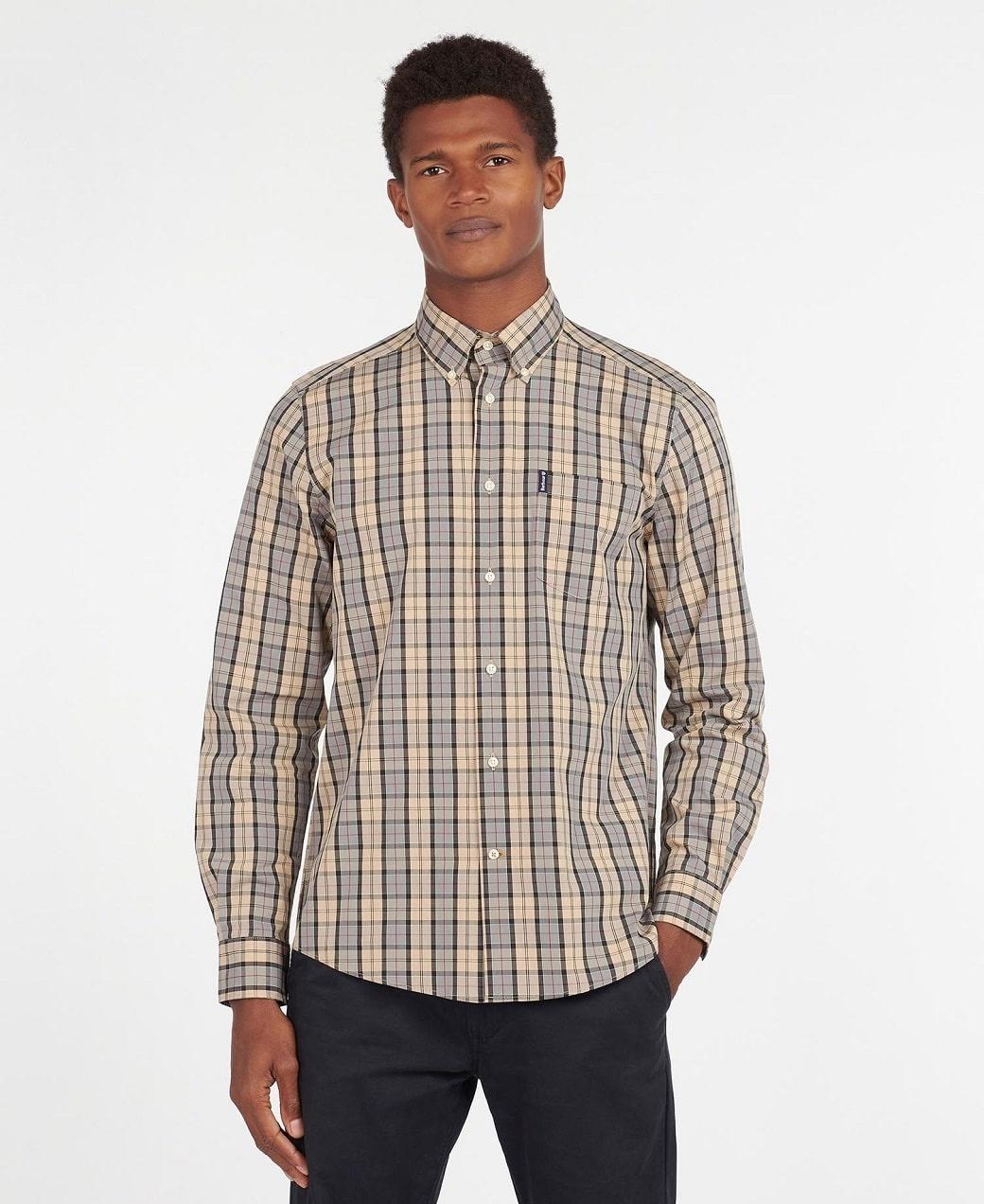 Barbour Tartan 17 Tailored  Shirt Dress Tartan-2