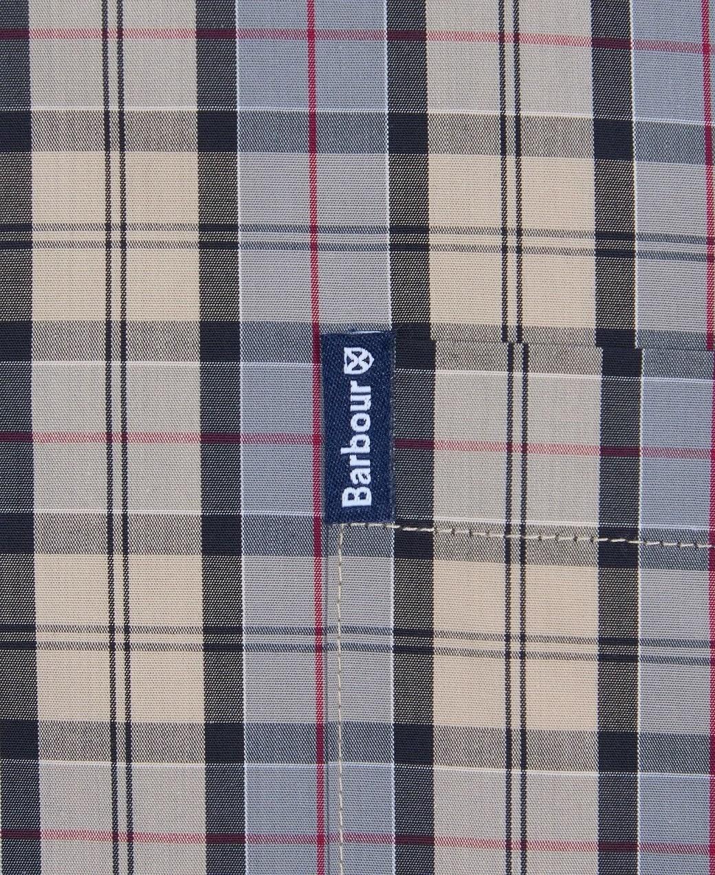 Barbour Tartan 17 Tailored  Shirt Dress Tartan-6