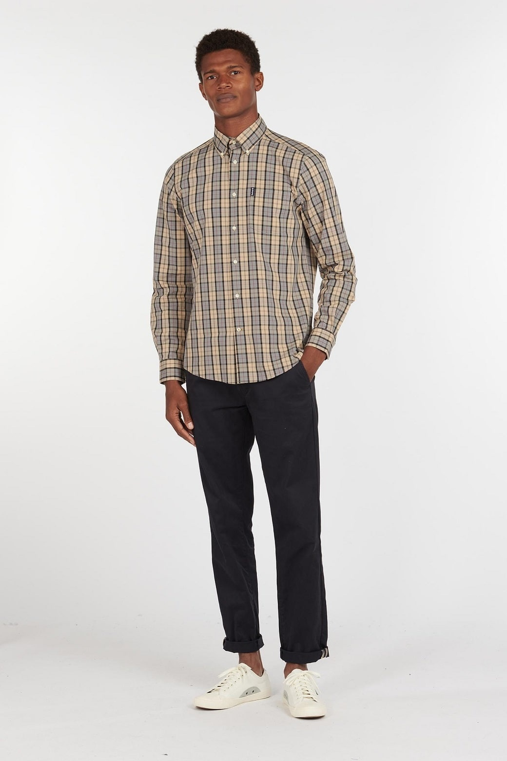 Barbour Tartan 17 Tailored  Shirt Dress Tartan-3