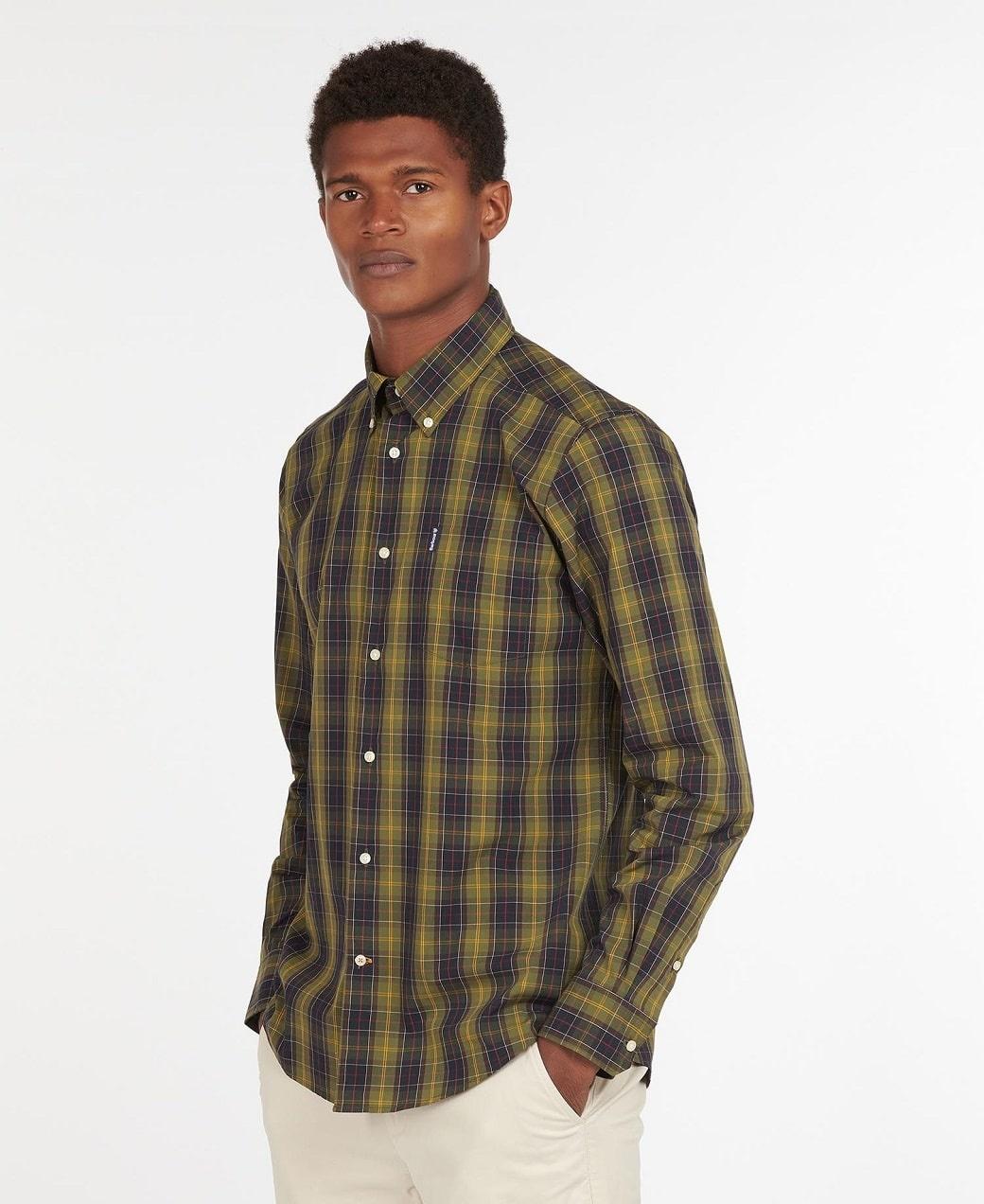 Barbour Tartan 17 Tailored Shirt Classic Tartan-2