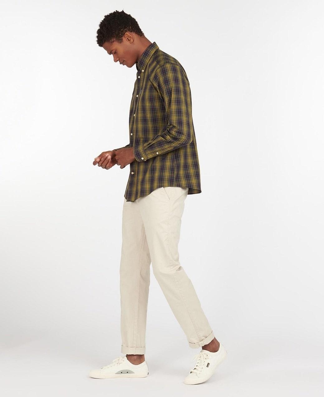 Barbour Tartan 17 Tailored Shirt Classic Tartan-3
