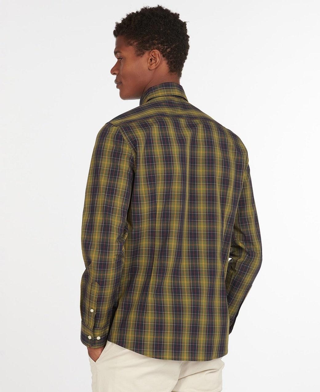 Barbour Tartan 17 Tailored Shirt Classic Tartan-4