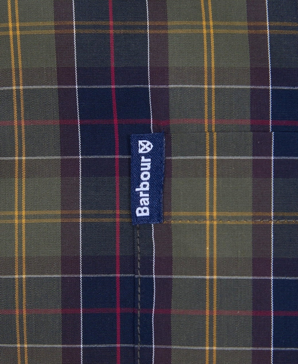Barbour Tartan 17 Tailored Shirt Classic Tartan-6
